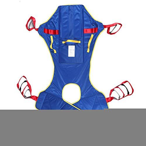 ZHYJJ Full Body Patient Lift Sling, Toileting Sling Patient Lifter Lifts,Heavy Duty Transfer Sling Belt, Waterproof Polyester Lifting Sling