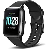 Letsfit Fitness Tracker Smart Watch With Heart Rate Monitor