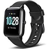 Letsfit Smart Watch, Fitness Tracker with Heart Rate Monitor, Activity Tracker with 1.3' Touch Screen, IP68 Waterproof...