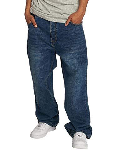 Ecko Unltd Männer Baggy Fat Jeans Bro in blau W 36 L 32