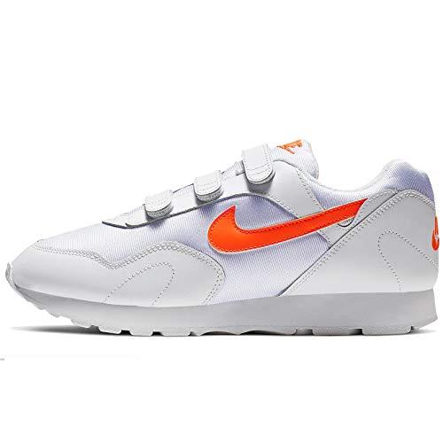 Nike W Outburst V, Zapatillas de Atletismo para Mujer, Multicolor (White/Hyper Crimson 000), 38 EU