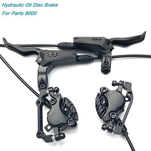 KHBD Outdoor Sports Bicicleta Disco hidráulico de Freno Delantero y Trasero 800 / 1550mm Presión del Aceite de la montaña de la Bici del Freno de Disco 26 27,5 29' XT-S M8000 Repair Parts