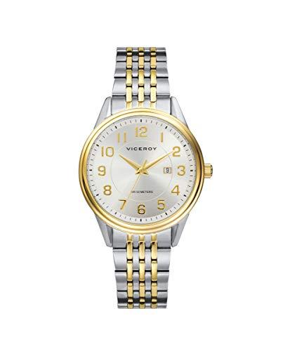 VICEROY - Reloj Acero IP Dorado Brazalete Sra Va - 401072-95