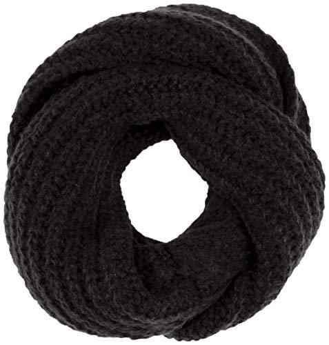 United Colors of Benetton Damen Collo Basico Schal, Schwarz (Nero 100), One size (Herstellergröße: OS)