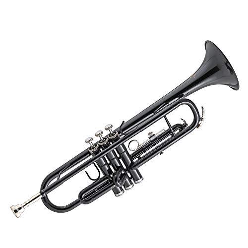 Kaizer TRP-1000BK Standard B Flat Bb Student Trumpet - Black