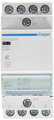 hager-contacteur Endschalldämpfer ESC425S 25A 4NA 230V