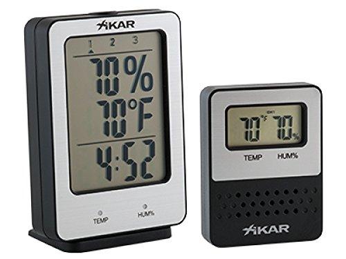 PuroTemp Xikar Hygrometer Base Starter Set inkl. Lifestyle-Ambiente Tastingbogen