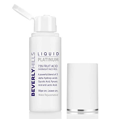 Beverly Hills - Platino líquido - 7,5% pelador facial de ácido frutal....