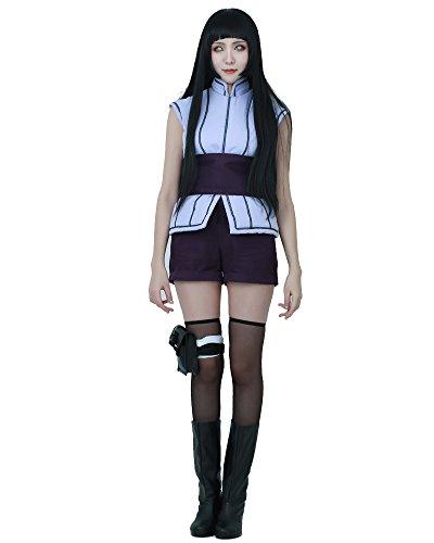 miccostumes Women's Hinata Hyuga Cosplay The Last Outfit Halloween Costume (S)