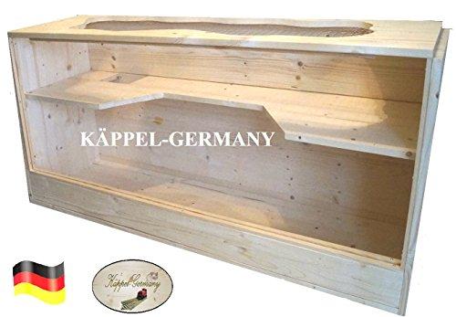NAGERHEIM PING Pong Komfort Gehege Käfig für Hamster Rennmaus Made in Germany von KÄPPEL-Germany 120x40x60cm