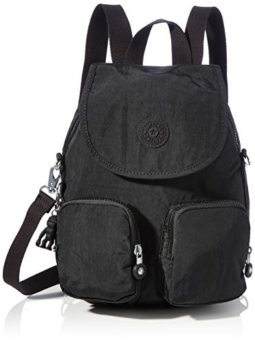 Kipling Women's Firefly UP Backpacks, Black Noir, 14x22x31 cm