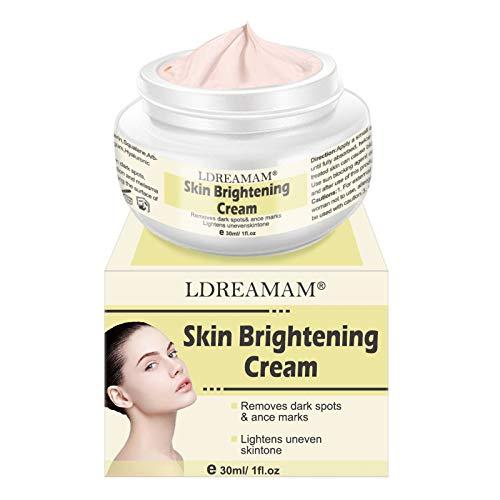 Whitening Cream,Frecken Creme,Aufhellung Creme,Sommersprossen Creme,Gesicht creme gegen Altersflecken/Dunkle Flecken,30 ml