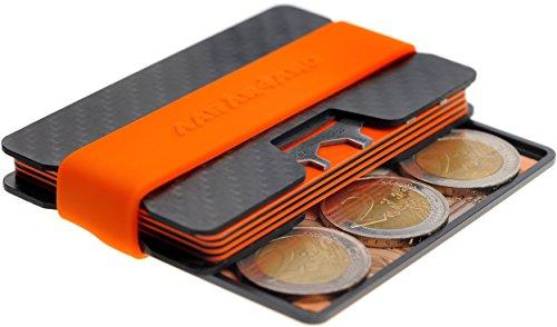 RFID Aluminium Revêtu de Bloquer Les Vols de données Premium Security Portefeuille pour Cartes de crédit Homme Bagages