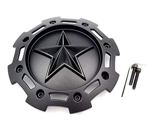 KMC XD Series Rockstar 2 SC-205 S1403-09 Black on Black 5 and 6 Lug Center Cap