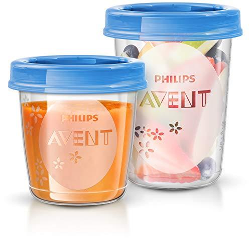 Philips Avent SCF721/20 Aufbewahrungssystem für Babynahrung, 20er Pack (10×180 ml, 10x 240 ml) - 2