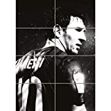 LIONEL MESSI FOOTBALL GIANT ART PRINT POSTER PLAKAT DRUCK X