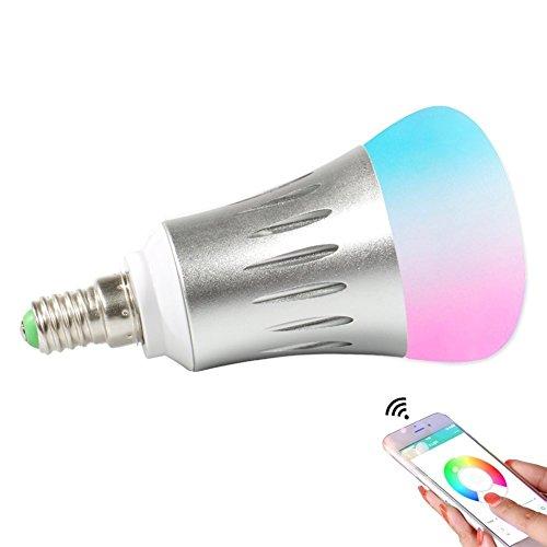 smart wifi light bulb works with google home