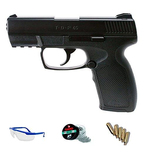 PACK pistola de aire comprimido Umarex TDP45 CO2 calibre 4.