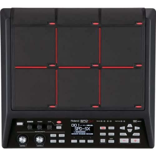 Roland SPD-SX Percussion Sampling Pad, Nero
