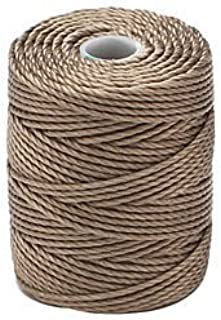 C-Lon Tex 400 Heavy Weight Bead Cord, Antique Brown - 1.0mm, 39 Yard Spool