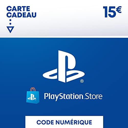 Carte PSN 15 EUR   Compte français   Code de téléchargement (PS5/PS4/PS3)