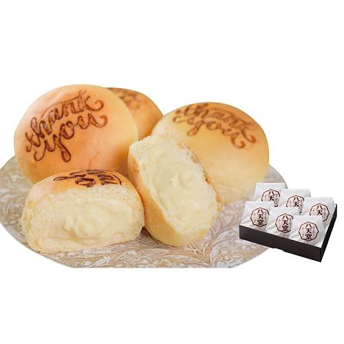 八天堂 プレミアムフローズン Thank youくりーむパン6個セット | クリームパン 冷凍パン セット スイーツパン 人気 クリーム カスタード 菓子パン 広島 敬老の日 ギフト