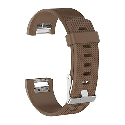 Pulseira Para Smart Watch Fitbit Fit Bit Charge 2 (Marrom)