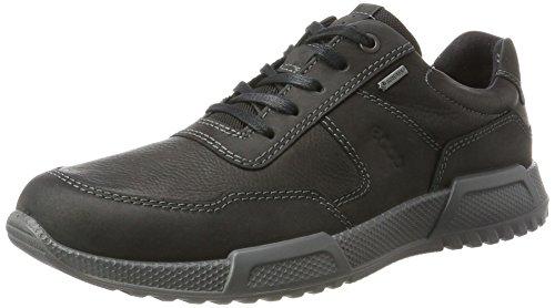 ECCO Herren Luca Sneaker, Schwarz (Black/Black), 42 EU