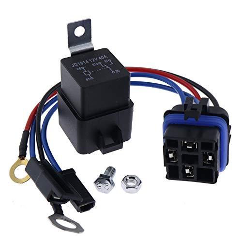ZTUOAUMA Starter Relay Kit Fit for John Deere AM107421 AM106304 Kawasaki Onan w/Water GX70 GX75 GX95 SX75 SX95 SRX75 SRX95 STX30 STX38 STX46 RX63 RX75 316 160 165 170 175 180