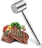 Ablandador de carne de acero inoxidable Martillo triturador Mazo de carne...