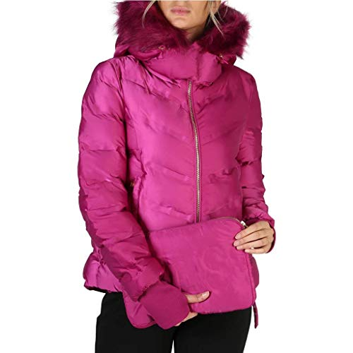 Guess Fuchsia Quilted Jacket by