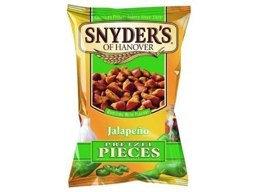 Snyder's of New Shipping Free Hanover: Jalapeno Max 41% OFF Pretzel Pieces - Oz. 2.25 10 Pack