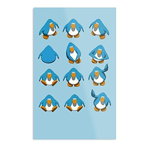 Club Penguin Default Dance - Póster de decoración para el interior más impresionante y elegante disponible actualmente