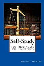 Self-Study UK Law Dictionary and Legal Letter Writing Exercise Book