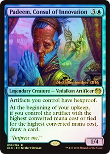 Magic The Gathering - Padeem, Consul of Innovation (059/264) - Prerelease & Release Promos - Foil