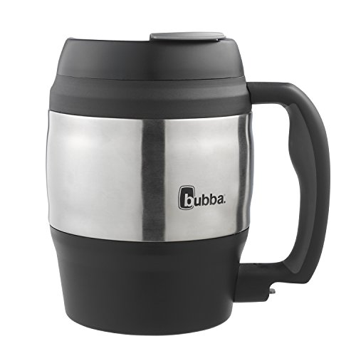 Bubba Classic Insulated Desk Mug, 52 oz, Black