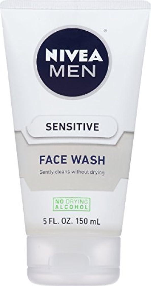 イル精査するビデオNIVEA Men Sensitive Face Wash 5 Fluid Ounce [並行輸入品]