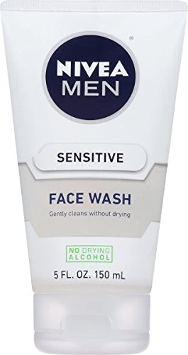 NIVEA Men Sensitive Face Wash 5 Fluid Ounce [並行輸入品]