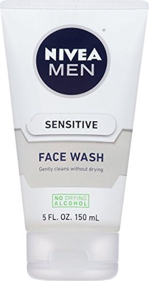 食欲アンケート障害者NIVEA Men Sensitive Face Wash 5 Fluid Ounce [並行輸入品]