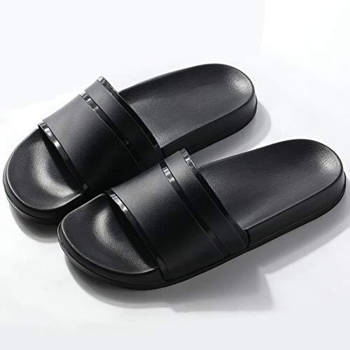 La moda de verano diapositivas de las mujeres zapatillas antideslizantes chanclas Eva al aire libre sandalias de playa hombres señoras pareja amantes zapatos