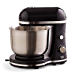 DASH Delish by Dash Compact Stand Mixer 3.5 Quart with Beaters & Dough Hooks Included - Black (DCSM350GB) (Renewed)