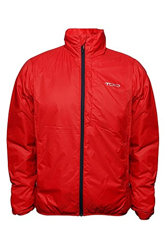 TOIO - Boom Jacket Deep Navy 3X-Large Water Repellent, Superlight and Packable Jacket with Primaloft Padding