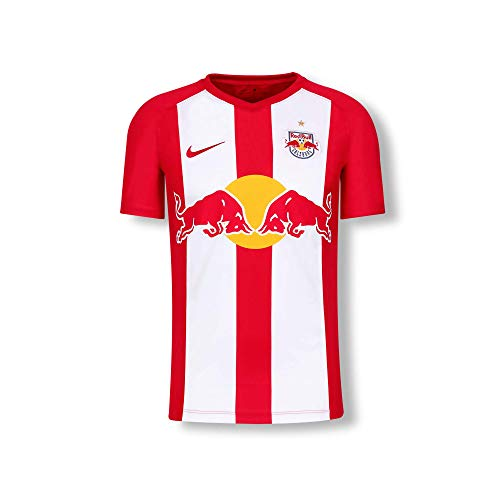 Red Bull Salzburg Home Trikot 19/20, Rot Youth Large T Shirt, FC Salzburg Original Bekleidung & Merchandise