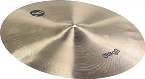 Stagg 15033 Regular Thin Crash Becken 40,6 cm (16 Zoll) bronze