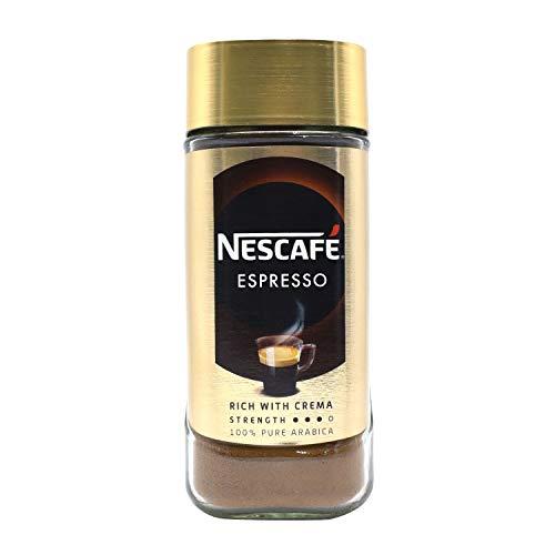 Nescafe Espresso-100% Pure Arabica Coffee Rich with Velvety Crema - 100 Grams