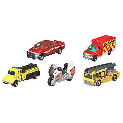 Matchbox FireRescue Vehicles, 5-Pack