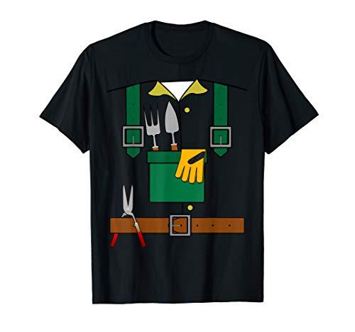 Garten Gärtner Gartenbau Karneval Fasching Köstüm Lustig T-Shirt