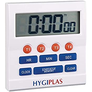 MINUTES AND SECONDS Big Digit Display Includes Magnetic Stand. WIN-WARE Kitchen//Cooking//Bedroom//Sport Countdown Timer Large digital display with loud alarm
