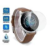 ELECTRÓNICA REY Protector de Pantalla Universal para SMARTWATCH o Reloj de 38mm, Cristal Vidrio Templado Premium