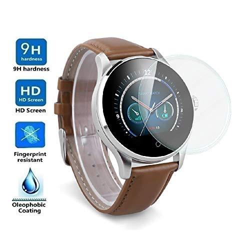 Protector de Pantalla Universal para SMARTWATCH o Reloj de 38mm, Cristal Vidrio Templado Premium
